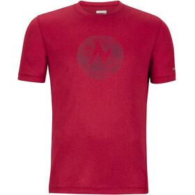 Marmot Transporter Miehet Lyhythihainen paita , punainen